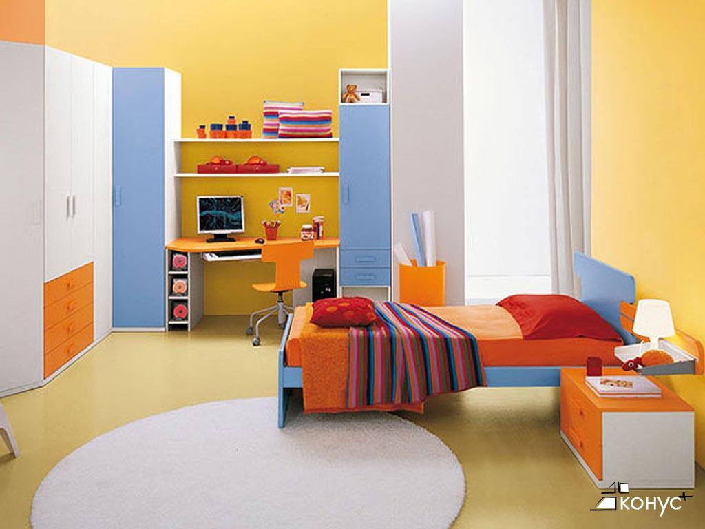 Стенка детская из дсп и меламина, julia arredamenti - мебель.